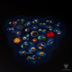 Twilight Imperium Map Frame (3 player module)
