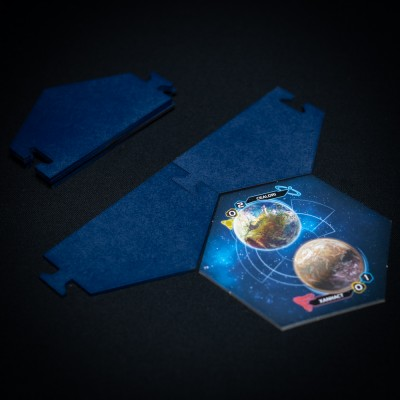 Twilight Imperium Map Frame ( 8 player modul-BLUE)