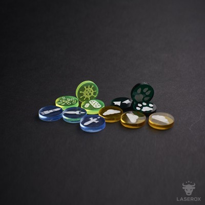 Terraforming Mars Resource Tokens