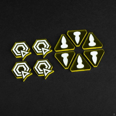 Twilight Imperium Command & Control Tokens